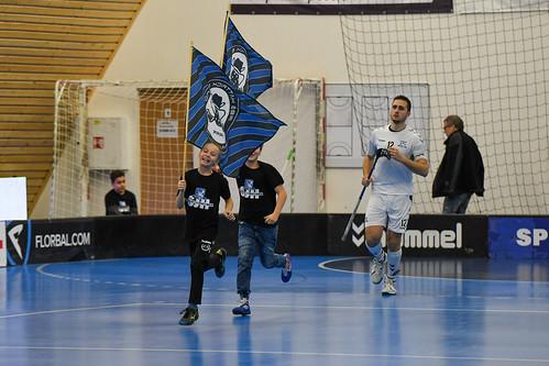 Superliga florbalu 18. kolo / vs TJ Sokol Královské Vinohrady